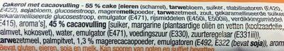 Tijgerrol - Ingrediënten - nl