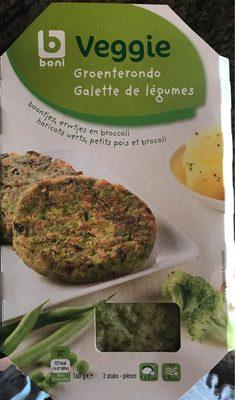 Galette de legumes - Produit