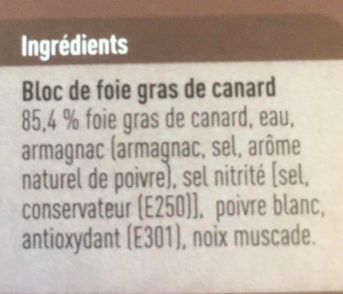Foie gras - Ingrediënten - fr