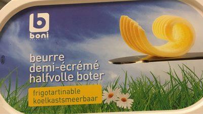 Beurre demi écrémé - Product - fr