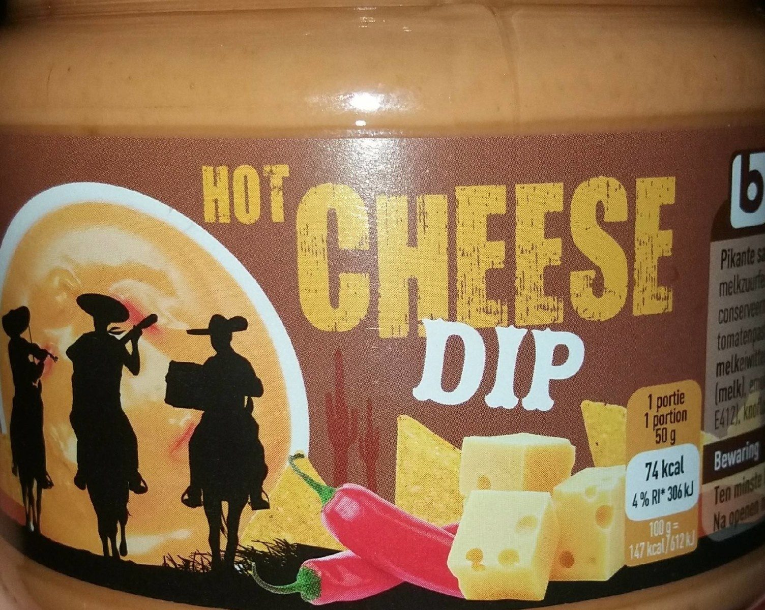 Hot cheese dip - Product - fr
