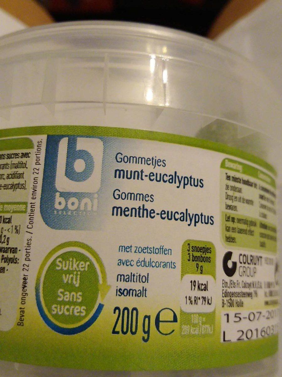 Menthe eucalyptus - Product