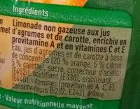 Ace - Ingrediënten - fr