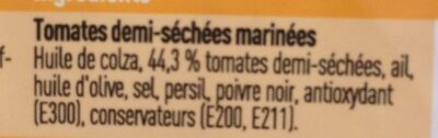 Halfgedroogde tomaten - Ingredients