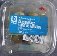 Olives vertes cubes de fromage - Product