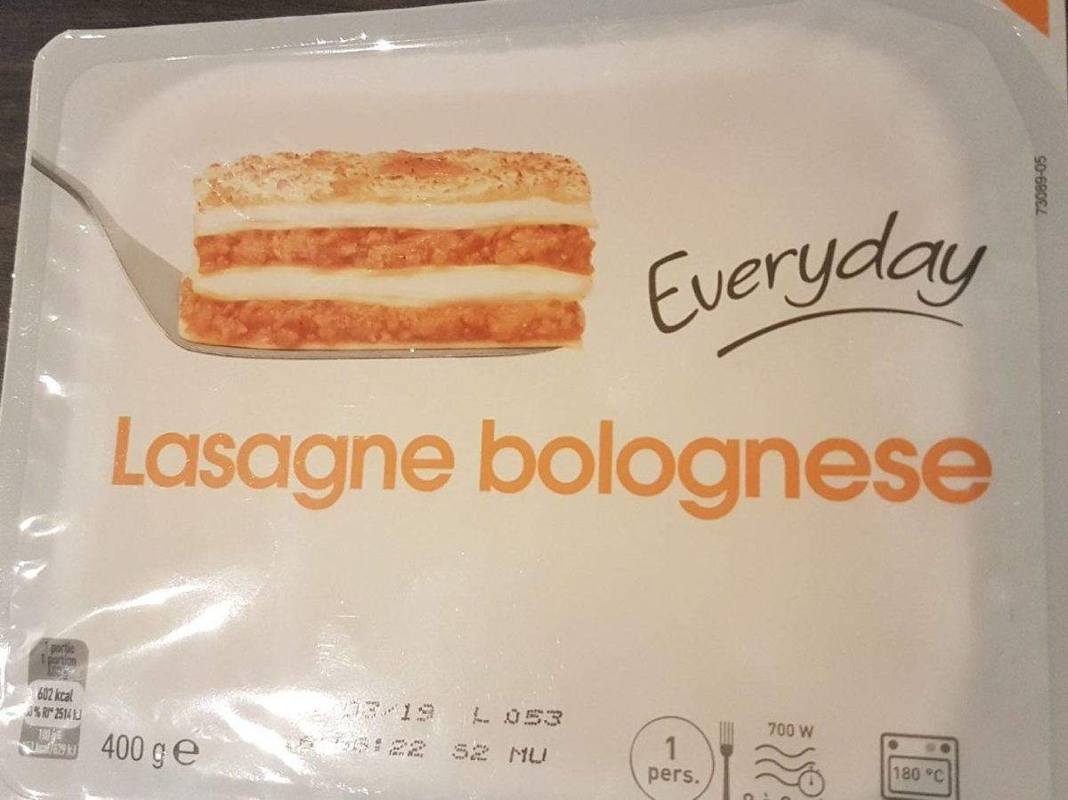Lasagnes bolognese everyday - Product - fr