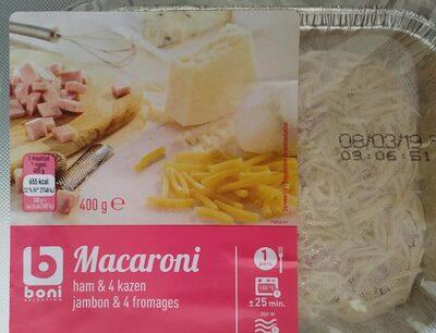Macaroni jambon et 4 fromages - Prodotto - fr