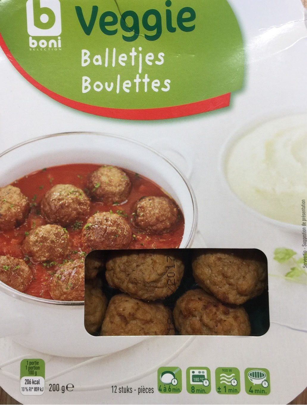 Boulettes Veggie - Product - fr