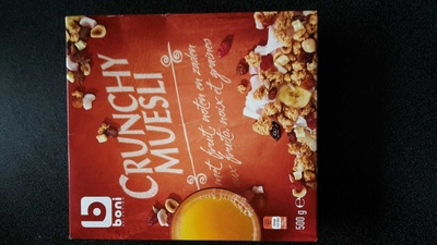 Crunchy Muesli - Produit