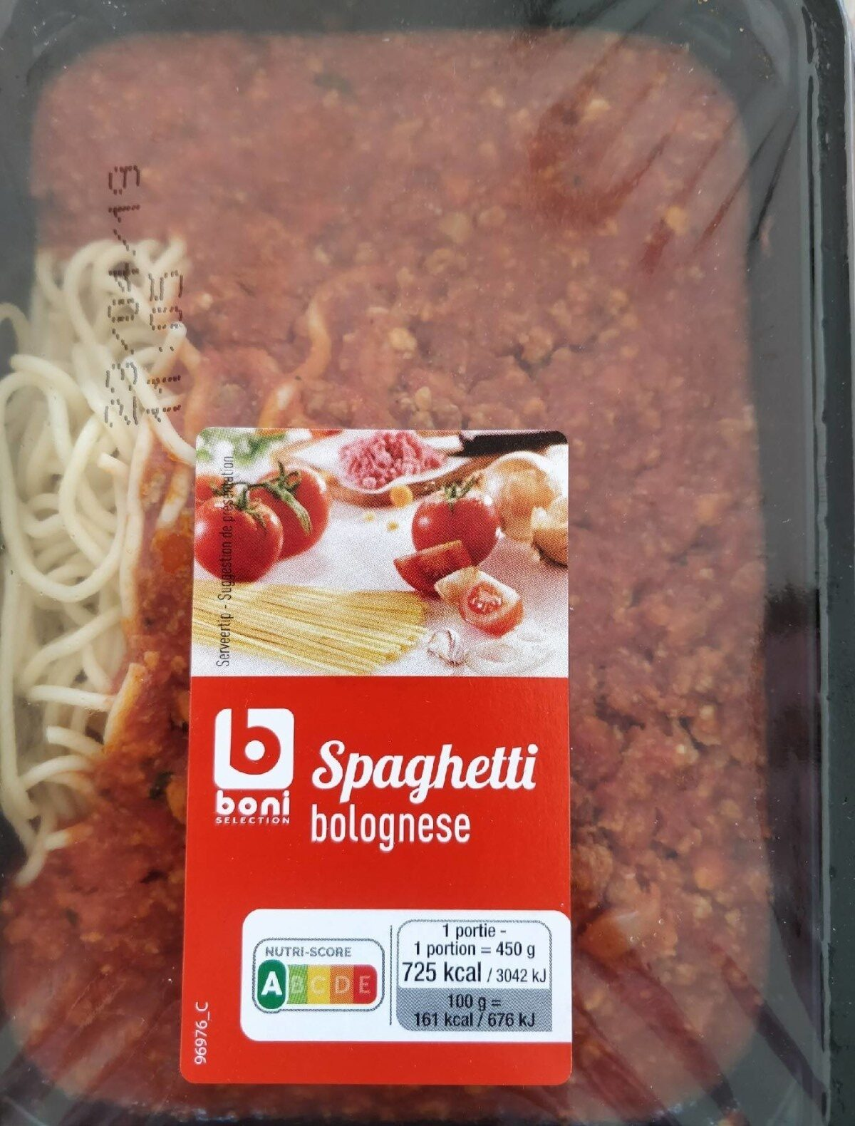 Spaghetti bolognese - Product - fr