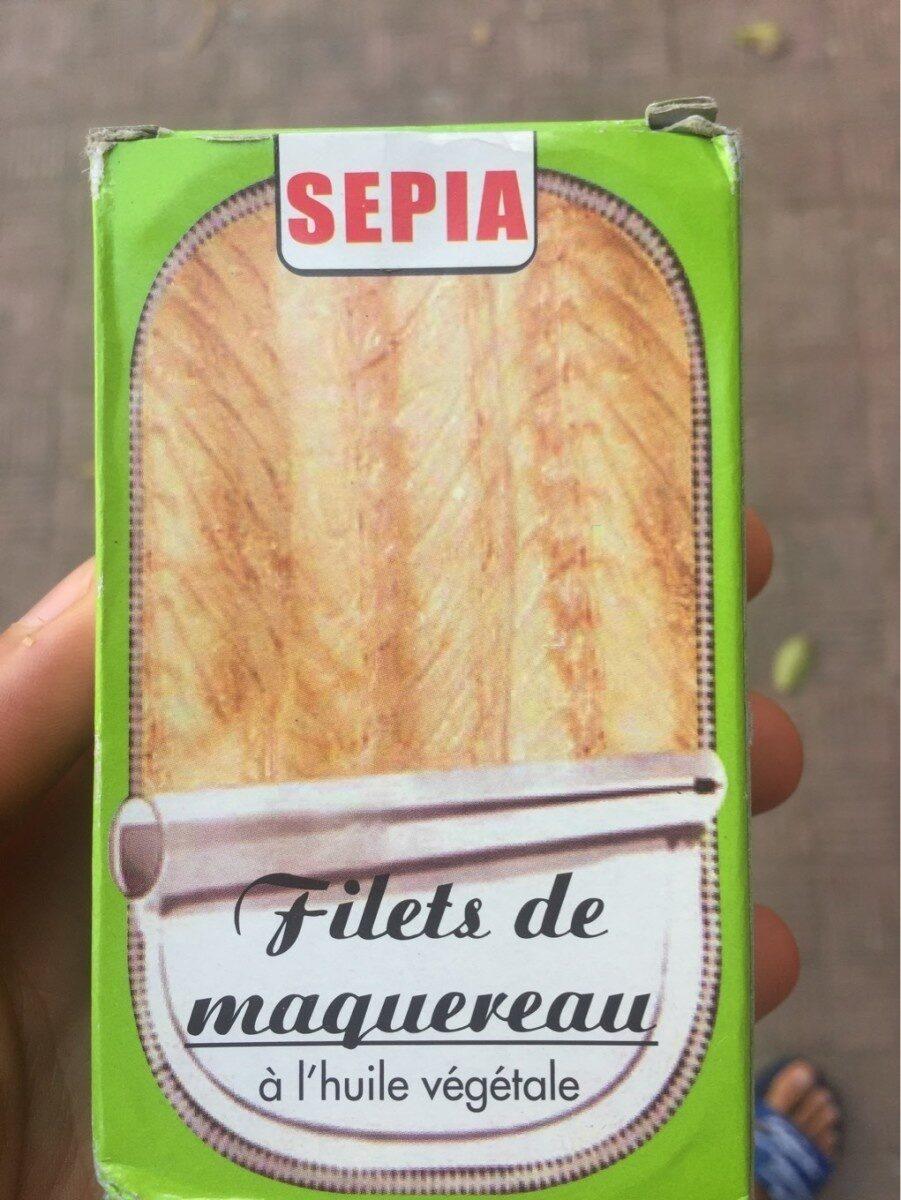 Sepia Filletes Of Mackerel In Oil - Produit - fr