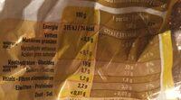 Boni pommes de terre pour frite et purée - Voedingswaarden - fr