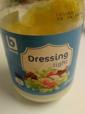 Dressing light boni - Produit - fr