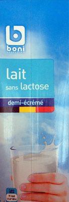 Lait sans lactose - Product