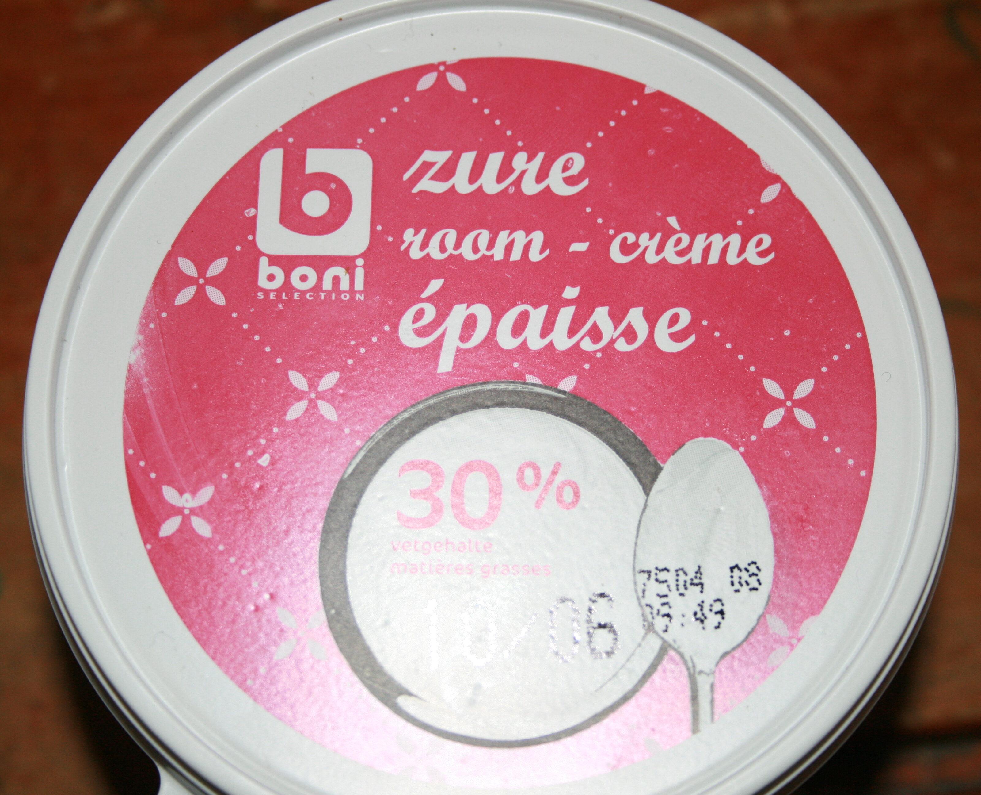 crème épaisse - Product - fr