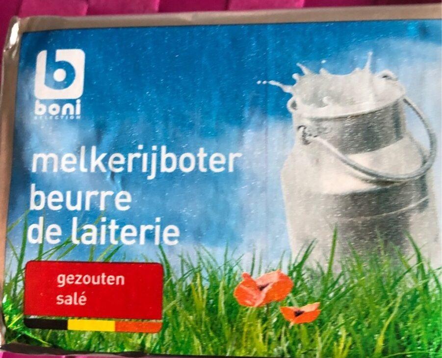 Beurre de laiterie - Product