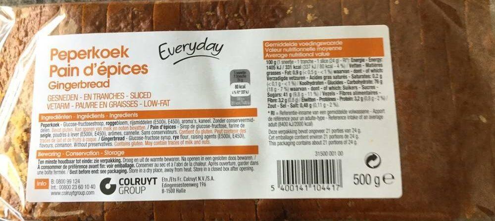 Pain d'épices - Product - fr