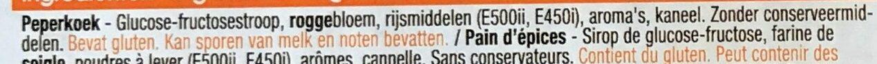 Pain d'épices - Ingrediënten - nl