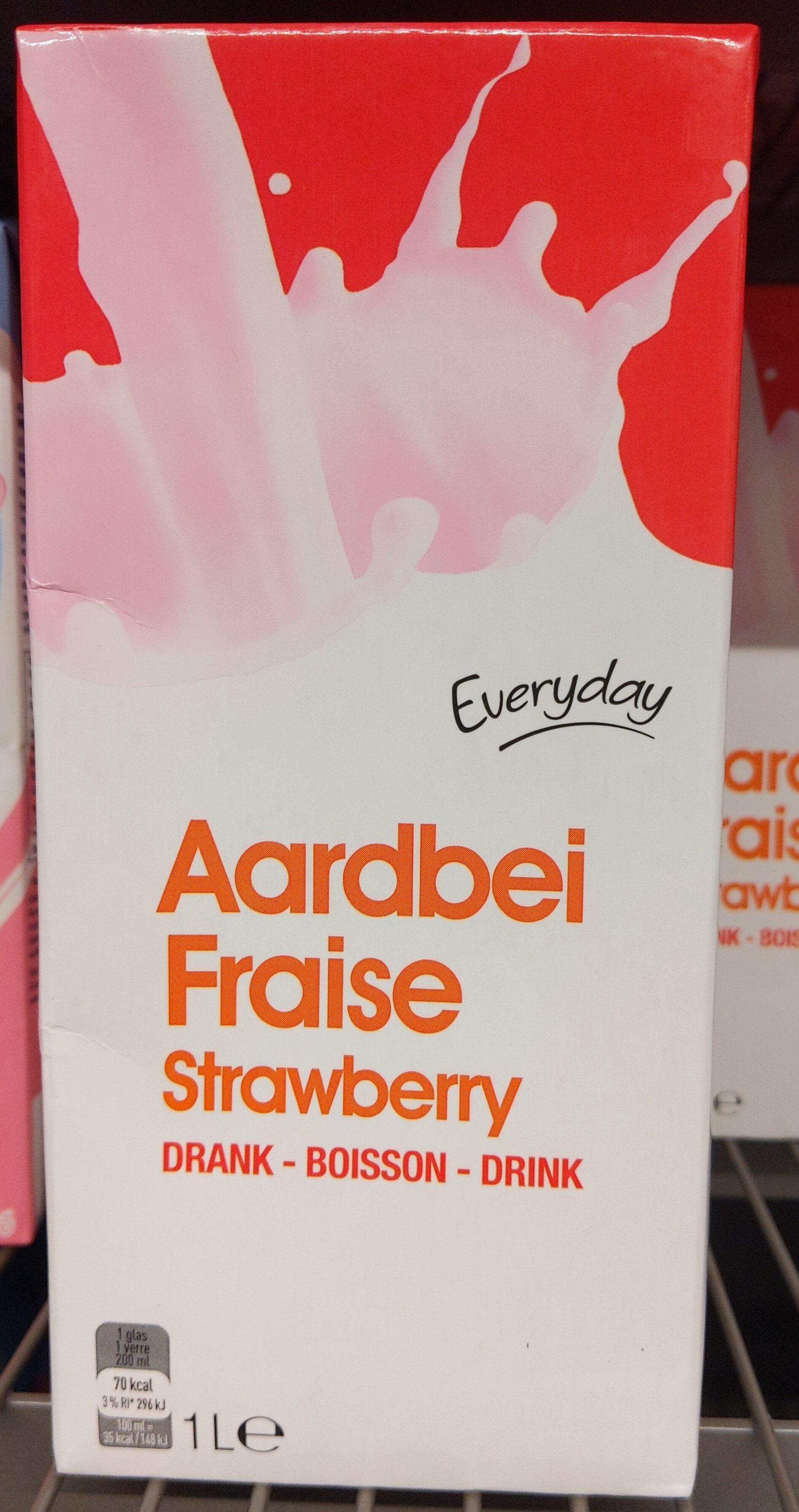 Fraise boisson - Product - fr