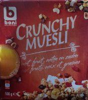 Crunchy Muesli - 产品 - fr