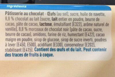 No Gluten Brownies - Ingrediënten - fr