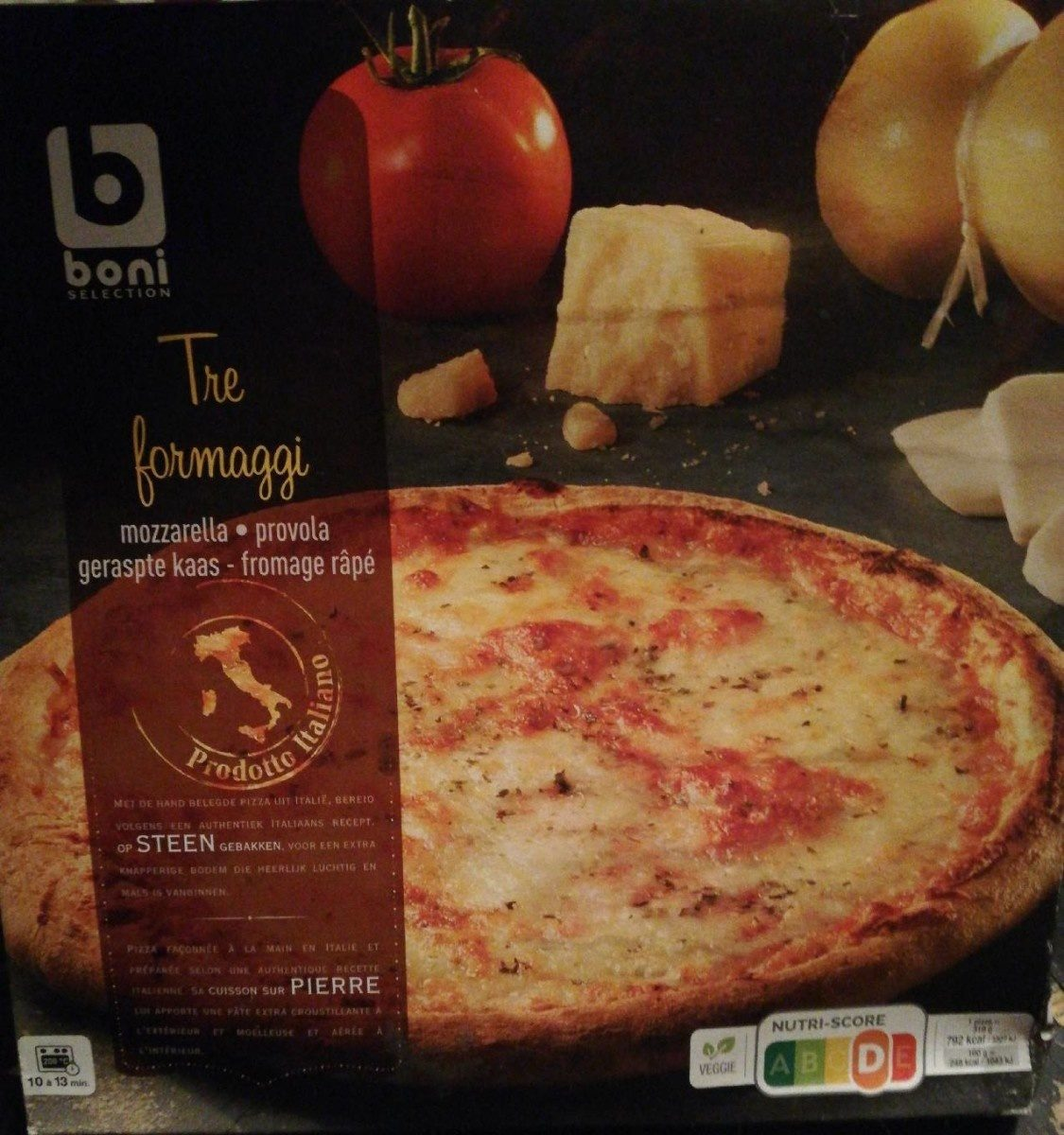 Pizza tre formaggi - Product - fr