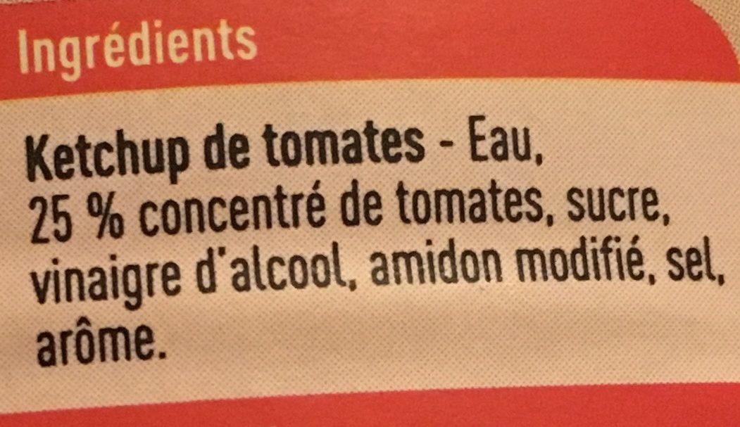 Tomato Ketchup - Ingrédients - fr