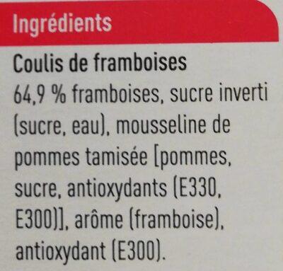 Frambozencoulis - Ingrediënten - fr