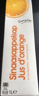 Jus D'orange- Sinaasappelsap - Product - fr