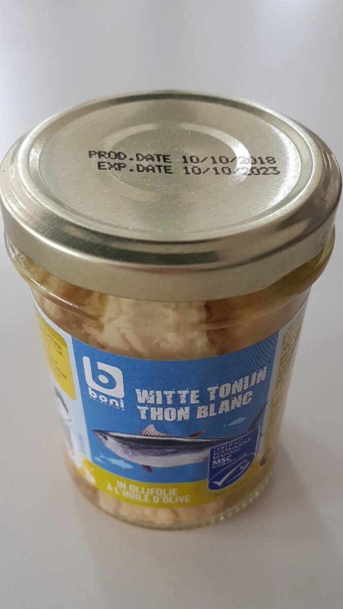 Thon Blanc à l'huile d'olive - Produit - fr