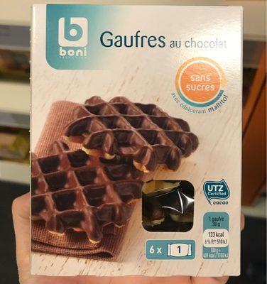 Gaufres au chocolat - Product - fr