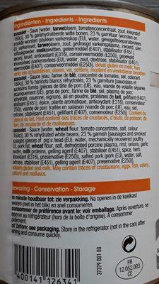 Cassoulet - Ingredients