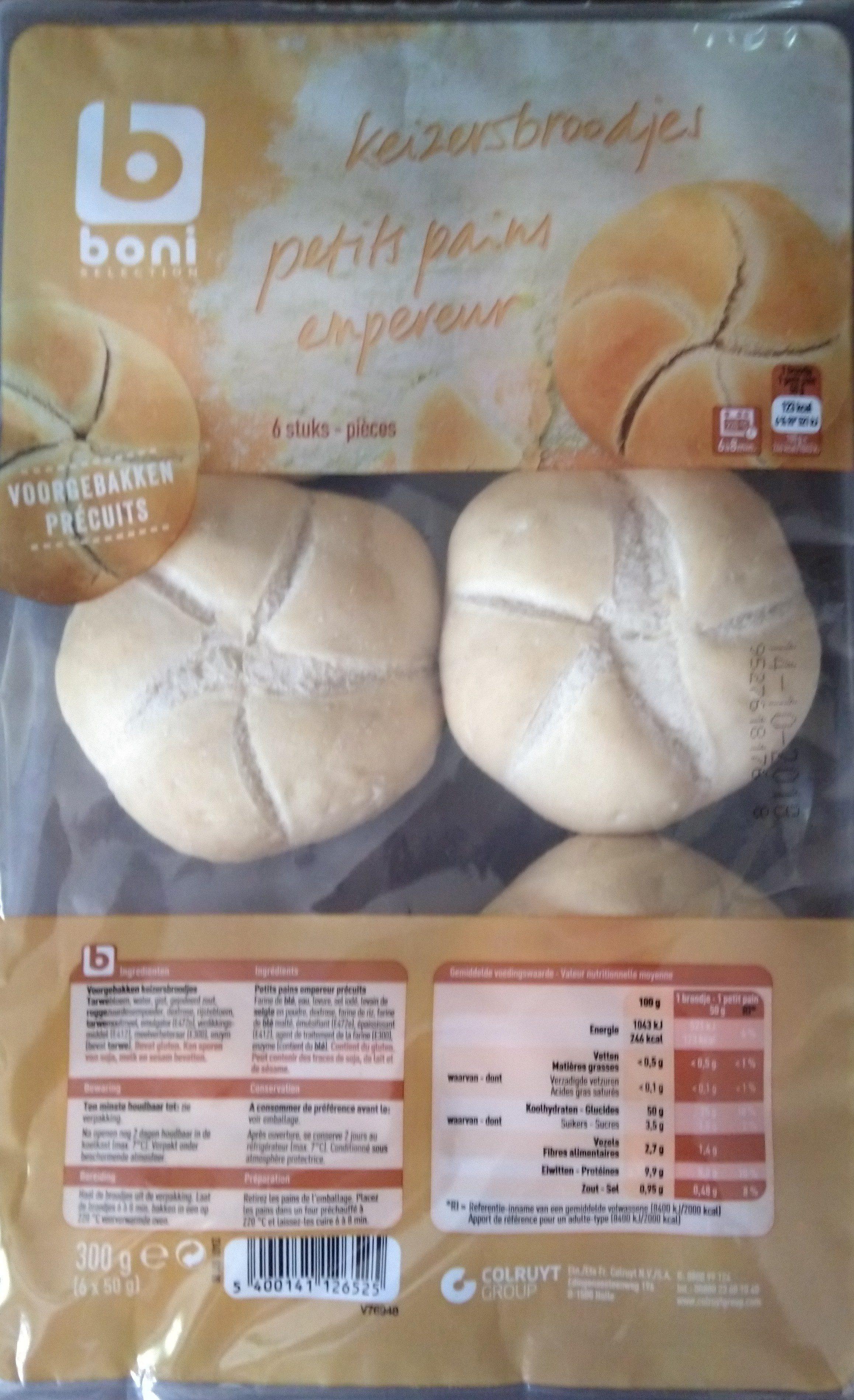 Petits pains empereur - Product - nl