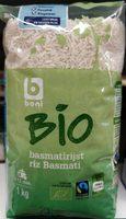 Riz Basmati Bio - Product - fr
