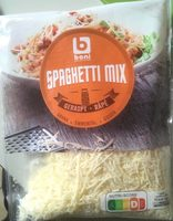 Spaghetti mix - Product - fr