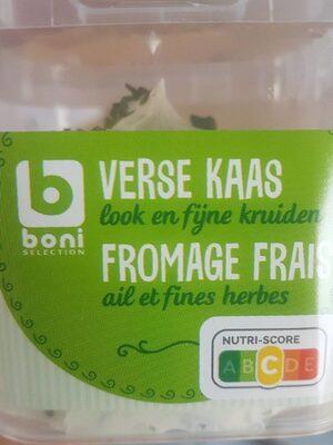 fromage frais ail et fines herbes - Product
