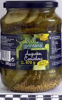 Cornichons aigres-doux - Product - fr