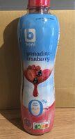 Grenadine-cranberry 0% - Product - fr