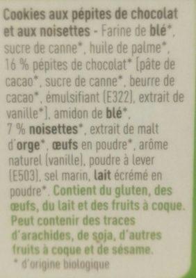Cookies - Ingrediënten