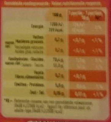 Mélange de bonbons - Voedingswaarden - fr