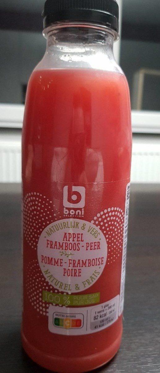 Jus pomme framboise poire Boni - Produit