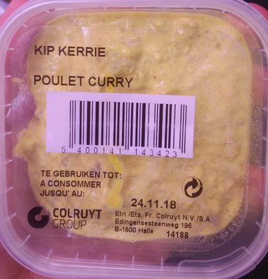 Poulet curry - Product