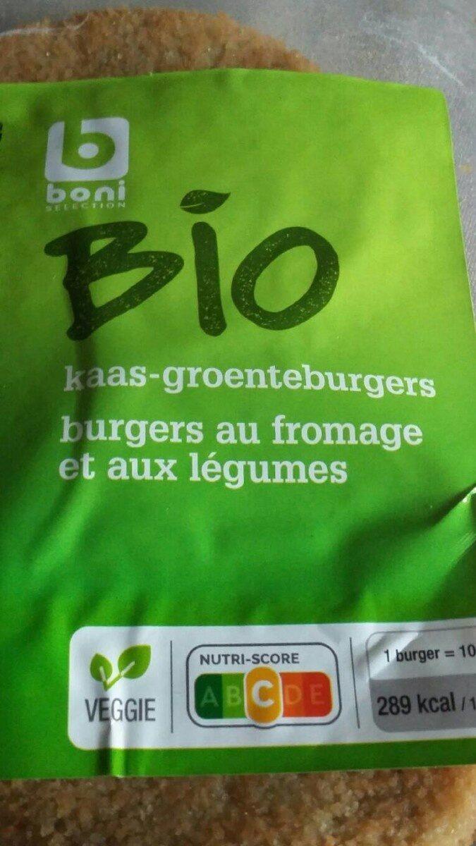 Burgers au fromage et aux légumes - Product