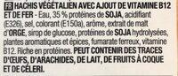 Hachis veggie - Ingrediënten