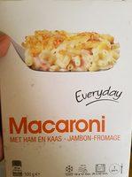 Macaroni Jambon-Fromage - Product - fr