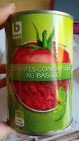 Tomates concassées au basilic - Product
