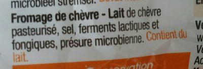 Fromage De Chevre - Ingrediënten