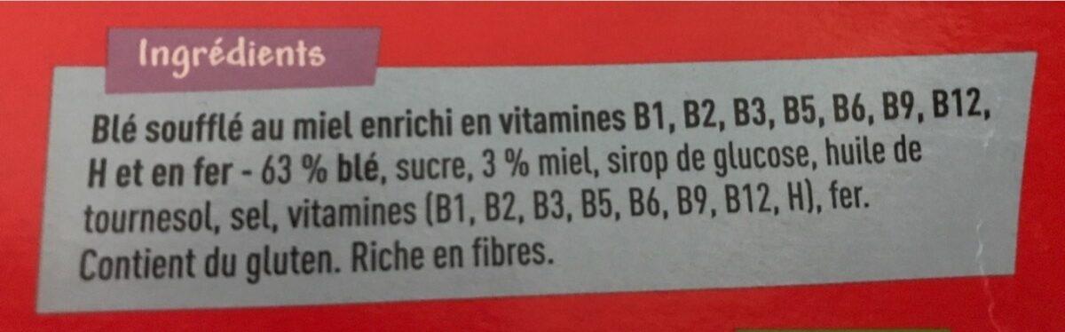 Honey Cribbs - Ingrediënten