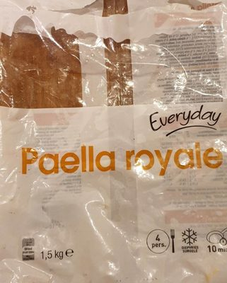 Paella royale - Product - fr