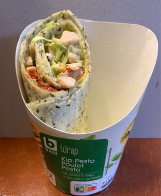 Wrap poulet pesto - Product